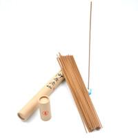держатели ароматизаторов оптовых-Индийский сандал палку благовония 20g 70 палочки с 1шт бесплатно керамический держатель для успокоения фокусировки прочного аромат сертификации SGS