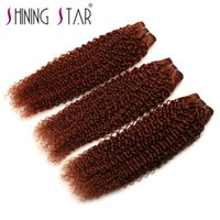 Wholesale new star brazilian hair - 33# curly hair weave Shining Star Wholesale new micro loop ring virgin brazilian russian europe hair supplier