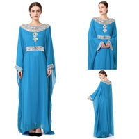 Wholesale Vintage Maternity Clothes - Wholesales 2018 Hot Sales Cheaper Long Sleeve Scoop Arab Kaftan Dresses ankle Muslim Abaya Dress Islamic Dubai Clothes In Stock Special Dres