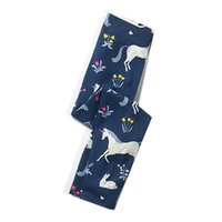 Wholesale baby animal leggings pants for sale - Girl Spring Fashion Leggings Cotton Kids Pants Brand Children Clothes Animal Flowers Printed Baby Clothing