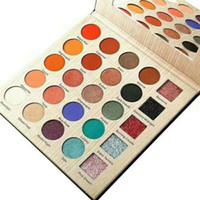 блестящие тени для век оптовых-Стойкий матовый блеск CLEOF Eyeshadow косметика марки 25 цветов новый в коробке Бесплатная доставка