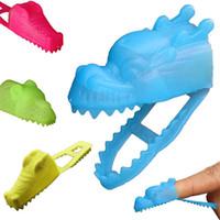 Wholesale toy crocodiles - Dragon Head Toys Animal Child Kid Small Gift Plastic Novelty Games Cartoon Toy Creative Bite The Finger Crocodile Hot Sale 0 1zp V