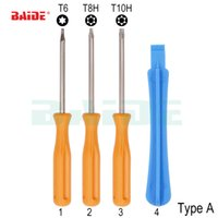 Wholesale tool for xbox for sale - Group buy 4 in Multifunctional T6 T8 T10 Security Precision Screwdriver Tool For Xbox PS3 PS4 Tamperproof Hole Home Improvement