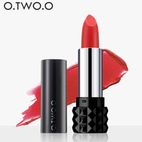 Wholesale kissproof lipsticks resale online - O TWO O colors Magical kiss Lipstick Matte Long Lasting Kissproof Waterproof Matte Lip gross gift for girlfriend