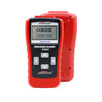 Wholesale computer diagnostic - KW807 OBD2 OBDII LCD Car Code Scan Tool AUTO Automotive Truck Diagnostic Tool Computer Vehicle Fault Reader Scanner