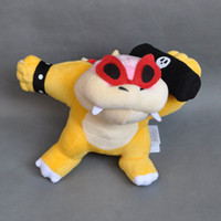 Wholesale bully toys for sale - Group buy Hot New quot CM Super Mario Bros Bully Roy Koopa Plush Doll Anime Collectible Stuffed Dolls Kid s Gifts Soft Toys