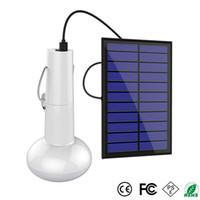 luz solar solar luzes venda por atacado-Portátil LEVOU Lâmpada de Energia Solar Ao Ar Livre À Prova D 'Água Camping Lanterna para Casa de Emergência Camping Caminhadas Tenda Galinheiro Coop Galpão Celeiro de Iluminação