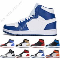 1s Mid OG 1 top 3 mens basketball shoes Homage To Home Banned Bred Toe  Chicago Royal Blue Shadow City Of Flight men sport sneakers designer f115d868f