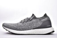 Wholesale red sea lighting - Men Women Ultra Boost Uncaged Shoes Triple White Red Dark Blue Matte Black Deep sea Tech Earth Oreo Khaki Outdoor Athletic Shoes