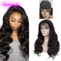 Wholesale front lace human hair closure for sale - Group buy Brazilian Virgin Hair X4 Lace Closure Wigs Natural Color Human Hair X4 Lace Closure Wigs inch Body Wave Closure Wig