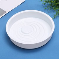 Wholesale cake turntable plastic - Silicone Cake Mold Non Stick Corrugated Shaped Bread Mould Heat Resisting Kitchen Baking Tool White 9 5ck Y R