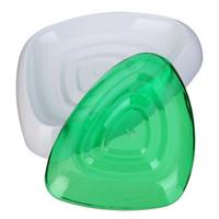 jabón vintage al por mayor-Caja de jabón de concha de plástico Jabonera Estilo japonés Vintage Jabón de plástico Contenedor Juego de baño Soporte de doble capa Escurridor de caja de jabón