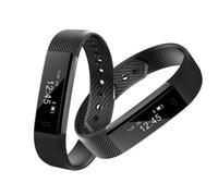 ingrosso i braccialetti seguono i passaggi-Pedometro intelligente del punto del braccialetto, pista di distanza, livello impermeabile dell'inseguitore di forma fisica IP67 per salute di forma fisica.