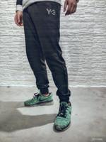 Wholesale gore tex pants - 2018 New Luxury Brand Designer Y-3 pants Trousers High Quality Men Women Y3 fashion sport Jogger Sweatpants Outdoor Pants