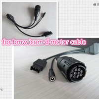 Wholesale diagnostic adaptor cable resale online - for bmw icom d cable new for bmw motorcycle diagnostic scanner Pin Adaptor works with for bmw icom a2