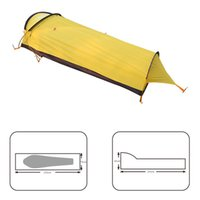 Wholesale professional construction - Ultralight 1-Person professional camping tent Fast Easy install 240T polyester, waterproof PU5000mm