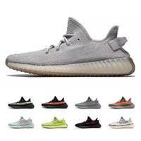 Wholesale copper box arts - SPLY 350 Boost V2 Newest Frozen Yellow Blue Tint Beluga 2.0 Black Red Copper Green Bred BY9612 BY1605 Running Shoes With Box