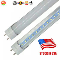 Wholesale 11w led lamp - 4ft 22W 3ft 18W 2ft 11W T8 Led Tube Light 2400lm Led lighting Fluorescent Tube Lamp 1.2m 0.9m tubes +Warranty 3Years