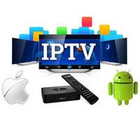 iptv sportkanäle großhandel-1 Jahr IPTV-Abonnement USA Kanada Arabic Sports UK Deutschland 4500+ IPTV-Kanäle für Android Smart TV M3U