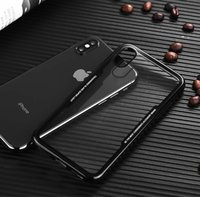 Wholesale iphone back case top for sale - Group buy Top Sale Shockproof TPU Clear Case for iPhone X Plus Transparent Soft Gel Four Corners Protector Back Cover