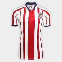 a medida que el jersey al por mayor-Guadalajara Soccer Jersey CD Chivas Men 18 19 Season 6 HERNANDEZ 17 SANCHEZ 7 PINEDA 3 SALCIDO Football Shirt Kits Make Custom