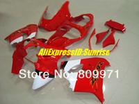 zx9r volle verkleidungen großhandel-K266 Meistverkaufte hot red full Verkleidung für KAWASAKI ZX9R 00 01 ZX-9R 2000-2001 ZX 9R 00 01 2000 2001+ 7 kostenlose Geschenke