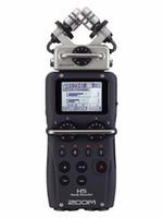 zoom tragbarer digitalrekorder großhandel-Heiß auf Lager ZOOM H5 professionelle Handheld-Digital-Recorder Vier-Track tragbare Recorder H4N verbesserte Version Recordin