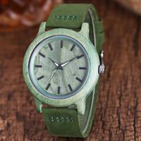 эко-часы мужчины оптовых-Экологически чистые деревянные пары часы минималистский студент наручные часы кожа Спорт дерево женщины мужчины наручные часы любителей платье часы