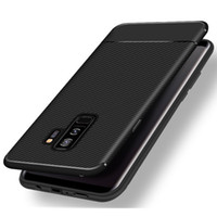 Wholesale Fiber Absorption - Rugged Armor Hybrid Carbon Fiber Case Shockproof Anti Shock Absorption Soft TPU Cover For iPhone X 8 7 Plus 6 6S Samsung Galaxy S9 S8 Note 8