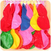 şişirilebilir yenilikler toptan satış-Lateks Kabak Şekli Hava Balon Yenilik Çocuk Komik Şişme Oyuncaklar Balonlar Güvenli Toksik Olmayan Airballoon Düğün Süslemeleri 9yza B