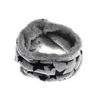 Wholesale Kids Infinity Scarves - 2018 1PC Baby Neck Warmers Fashion Scarves Children infinity scarf five stars Boys girls cotton Kids print ring loop Scarves New