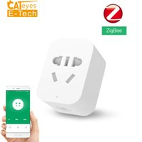 Discount timer power sockets - Zigbee Version Smart Socket WiFi APP Wireless Control Switches US AU EU Timer Plug Power Charger Work with gateway