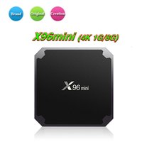 Wholesale android mini pc 1gb for sale - Group buy 1 Original X96 Mini GB GB Amlogic S905W Android TV Box Quad Core K H P Video Streaming Android TV Box