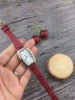популярные фирменные часы для девочек оптовых-Топ Марка мода женщины роскошные часы браслет кварцевые кожаные часы платья наручные часы для дамы девушки водонепроницаемые Montre Femme