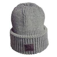 eb9909ce 2018 Men Beanies Knit Hat Winter Cap For women knitt Cap Boys Thicken  Hedging Balaclava Skullies Fashion Warm knit hats #TH