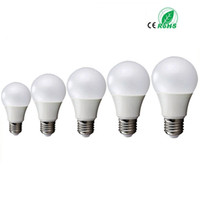 Wholesale e27 bulb 7w 9w online - E27 W W W W W globe dimmable V BALL bulbs LED Bulb Light SMD5730 v Heat Dissipation High Bright Lampada Lamps