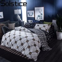Wholesale queen size tiger bedding for sale - Solstice Animal Tiger Head Pattern Style Cotton Bedding Sets Duvet Cover Set Bedlinen Bed Sheets Pillowcase Queen Size