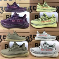 Wholesale Fishing Rubbers - 2018 Best Quality SPLY-350 350 V2 New Kanye West 350 V2 Men Women Seankers Running Shoes Beluga 2.0 Semi FrozenWith Box Receipt Keychian