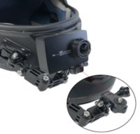Wholesale adhesive for gopro for sale - Group buy Adjustable Helmet Curved Adhesive Side Mount for xiaomi yi K GoPro HD Hero Sjcam Sj4000 EKEN action Camera Accessories