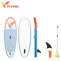 Wholesale Inflatable Boards - Freein inflatable paddle board isup inflatable stand up paddleboard for surfboard,yoga,explorer,all round ,fitness with paddle, repair kit