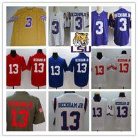 d82bd779aac708 ... czech ncaa 3 odell beckham jr lsu tigers college football jerseys  stitched royal white red 13