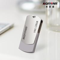 16gb unidades flash al por mayor-Grabado con láser Logotipo de su empresa Capacidad real Memoria USB Memoria USB Pendrive Memoria USB Rotación Memoria USB para Monvam V80