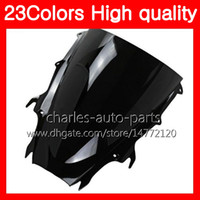 Wholesale motorcycle triumph - 23Colors Motorcycle Windscreen For Triumph Daytona 675 09 10 11 Daytona-675 Daytona675 2009 2010 2011 Chrome Black Clear Smoke Windshield
