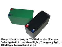 солнечный искатель оптовых-Глубокий цикл 12 в 16ah 200 Вт аккумуляторная батарея для рыбалки finder power sprayer насос солнечный свет аварийное освещение медицинское устройство