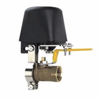 трубопроводная вода оптовых-Freeshipping DC8V-DC16V автоматический манипулятор запорный клапан для сигнализации запорный газопровод устройство безопасности для кухни ванная комната