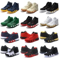 Wholesale white confetti - Top quality 4 Confetti Basketball shoes cheap sale store free shipping Basketball shoes Wholesale prices US7-US12