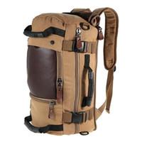 büyük sırt çantaları toptan satış-Marka lüks çanta Şık Seyahat Büyük Kapasiteli Sırt Çantası Erkek Bagaj Omuz Çantası Bilgisayar Sırt Çantası Erkekler Fonksiyonel Yönlü Çanta
