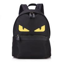 Wholesale eye backpack - EYE Monster backpack,nylon school satchel,travel ,laptop bag for mommy and kids