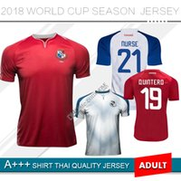 Wholesale purple nurse - 2018 World Cup PANAMA Home Soccer Jerseys NURSE GODOY TORRES OVALLE QUINTERO HOME AWAY JERSEY 18 19 RED WHITE FOOTBALL 2019 Away SHIRT