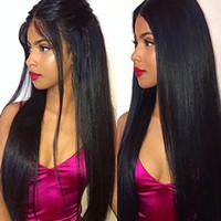 paquetes de paquetes de la virgen brasileña al por mayor-Extensiones brasileñas de cabello humano virgen Paquete de 3 paquetes Extensiones de cabello virgen sin procesar Largo Recto Color natural Mezclado Longitud